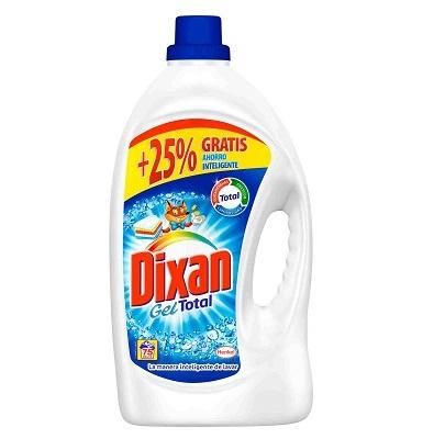 Detergente dixan gel 75 lavados