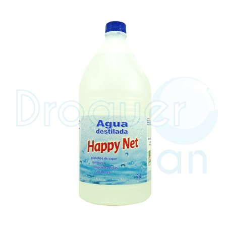 Agua destilada happy net