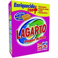 Lagarto Power Action.Droguería online,venta de productos de limpieza de las mejores marcas.Líderes en artículos de limpieza.