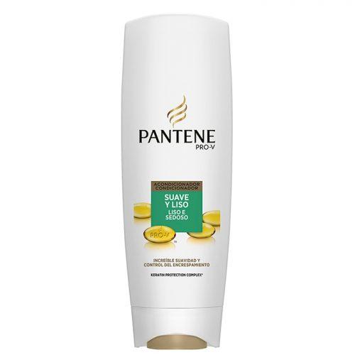 Acondicionador Pantene Suave y Liso.Droguería online,venta de productos de limpieza de las mejores marcas.Líderes en artículos de limpieza.