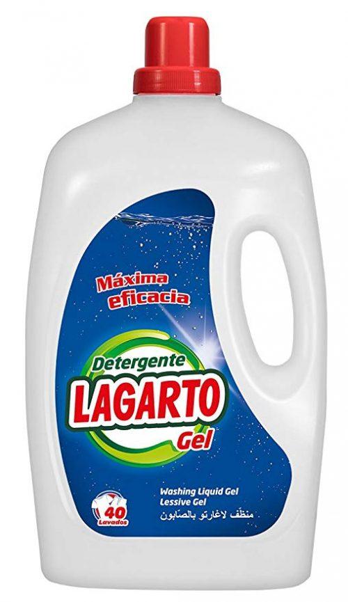 Detergente Lagarto Gel.Droguería online,venta de productos de limpieza de las mejores marcas.Líderes en artículos de limpieza.
