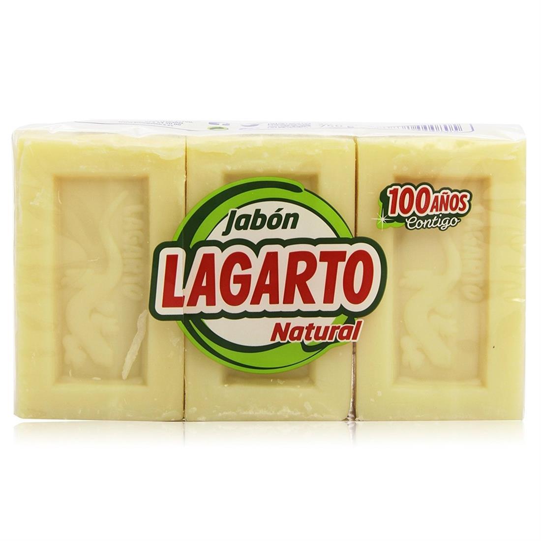Jabón Lagarto Natural 3 pastillas