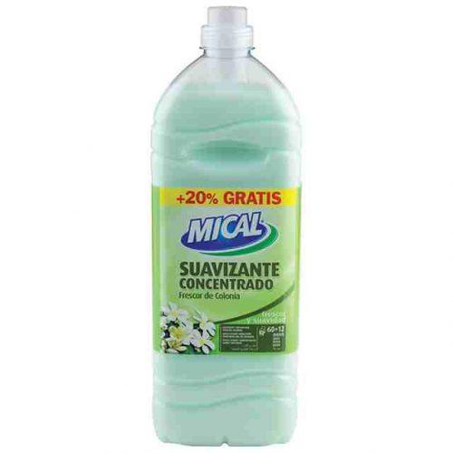 Suavizante Mical Frescor Colonia.Droguería online,venta de productos de limpieza de las mejores marcas.Líderes en artículos de limpieza.