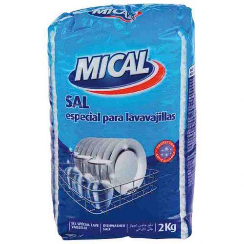 Sal Lavavajillas Mical.Droguería online,venta de productos de limpieza de las mejores marcas.Líderes en artículos de limpieza.