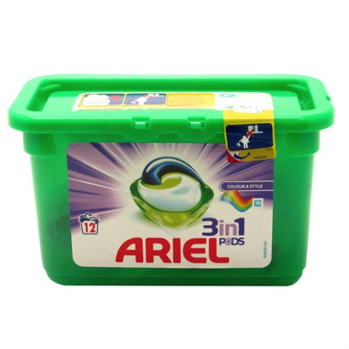 Cápsulas Ariel Colour.Droguería online,venta de productos de limpieza de las mejores marcas.Líderes en artículos de limpieza.