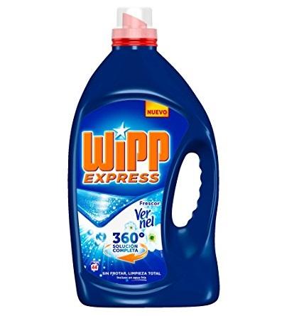 Detergente wipp express