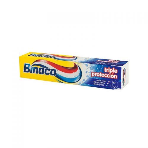 Binaca Triple Accion.Droguería online,venta de productos de limpieza de las mejores marcas.Líderes en artículos de limpieza.