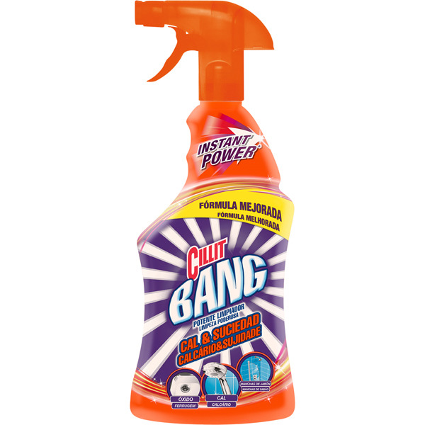 Cillit Bang Potente Limpiador Spray Cal & Brillo