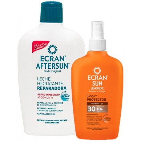 Ecran Aftersun+Proteccion 30