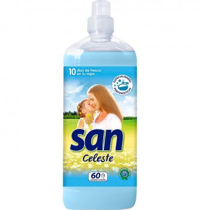 Suavizante San Celeste.Droguería online,venta de productos de limpieza de las mejores marcas.Líderes en artículos de limpieza.