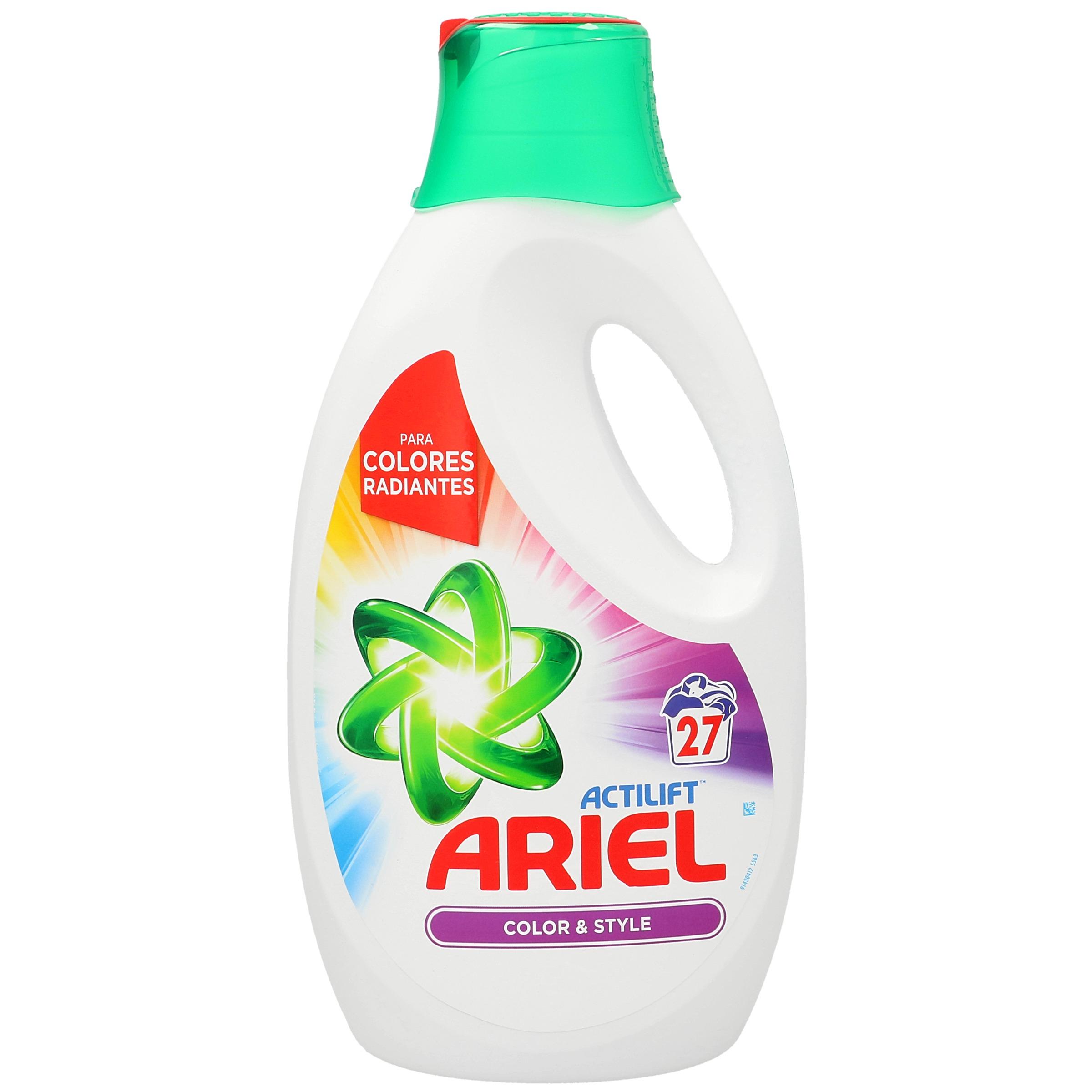 Detergente gel ariel color