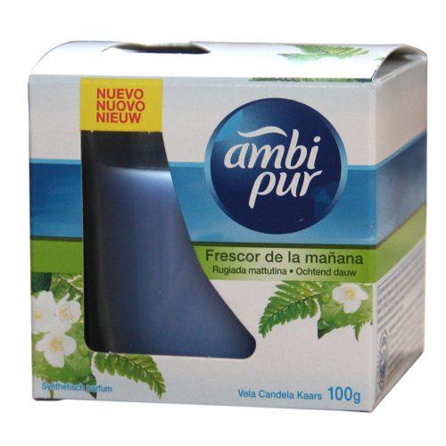 Vela Ambipur Frescor Mañana.Droguería online,venta de productos de limpieza de las mejores marcas.Líderes en artículos de limpieza.