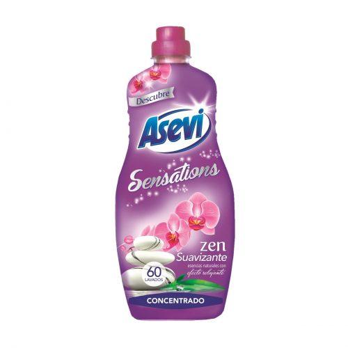 Asevi Suavizante Sensations Zen.Droguería online,venta de productos de limpieza de las mejores marcas.Líderes en artículos de limpieza.