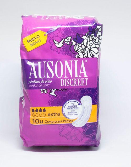 Ausonia Discreet Extra.Droguería online,venta de productos de limpieza de las mejores marcas.Líderes en artículos de limpieza.