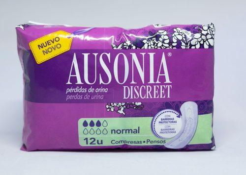 Ausonia Discreet Normal.Droguería online,venta de productos de limpieza de las mejores marcas.Líderes en artículos de limpieza.