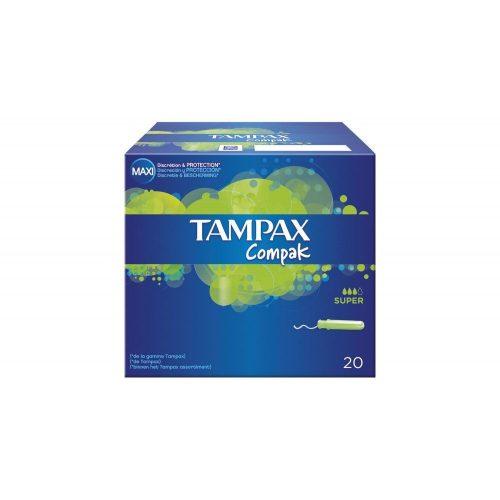 Tampax Compak Super.Droguería online,venta de productos de limpieza de las mejores marcas.Líderes en artículos de limpieza.