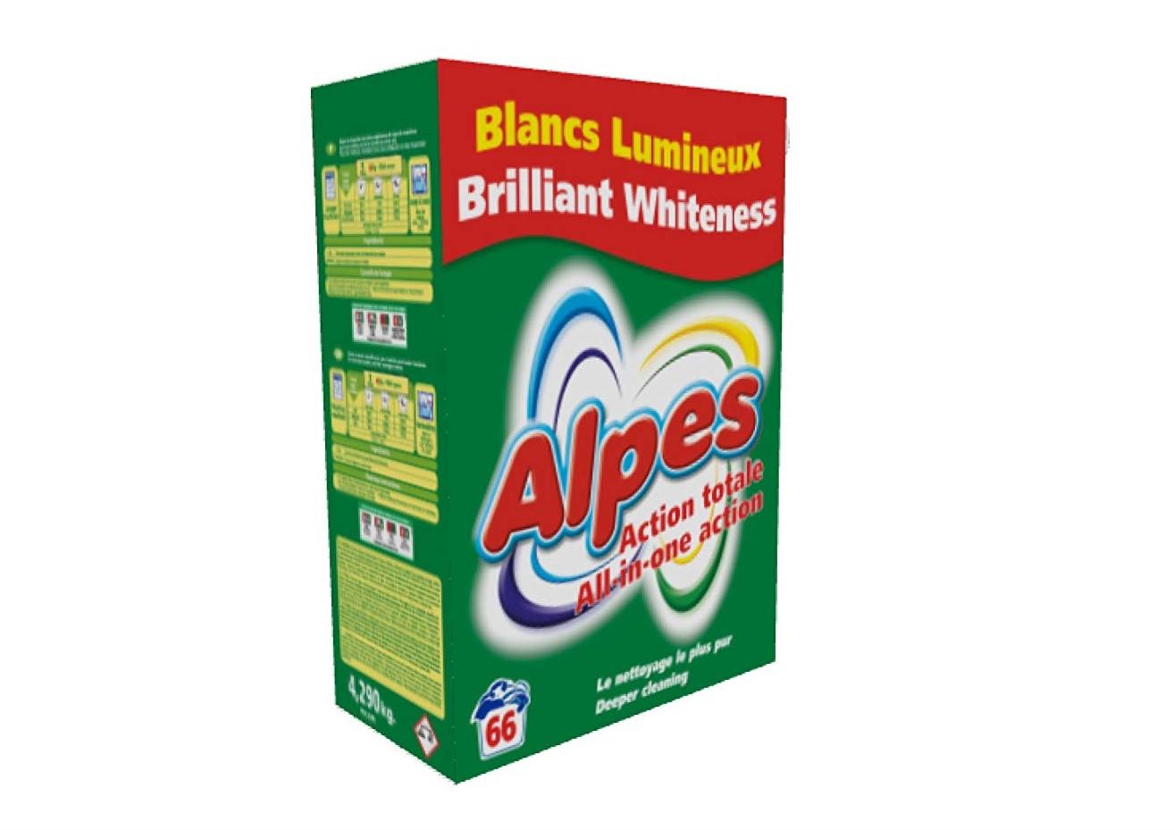 Detergente Alpes