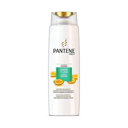 Champú Suave y Liso Pantene.Droguería online,venta de productos de limpieza de las mejores marcas.Líderes en artículos de limpieza.