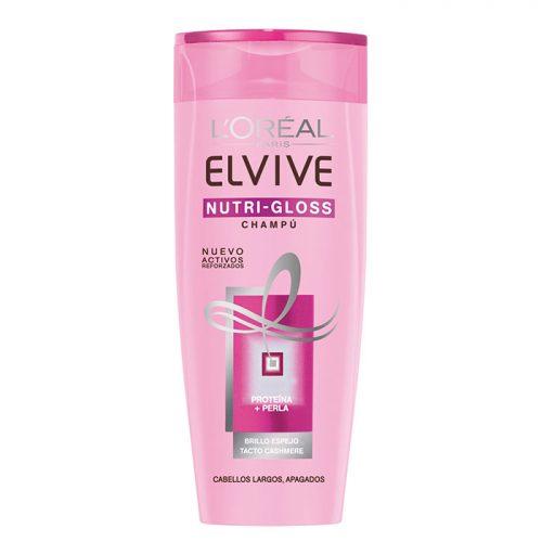 Champú Nutri-Gloss Elvive.Droguería online,venta de productos de limpieza de las mejores marcas.Líderes en artículos de limpieza.
