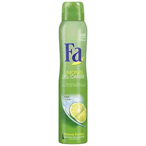 Fa Limones del Caribe.Droguería online,venta de productos de limpieza de las mejores marcas.Líderes en artículos de limpieza.