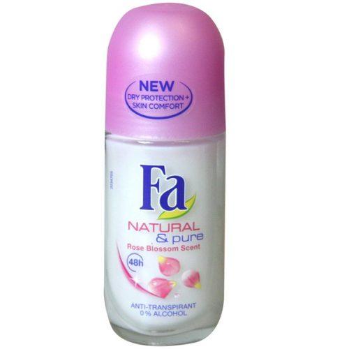 Fa Natural&Pure Roll-on.Droguería online,venta de productos de limpieza de las mejores marcas.Líderes en artículos de limpieza.