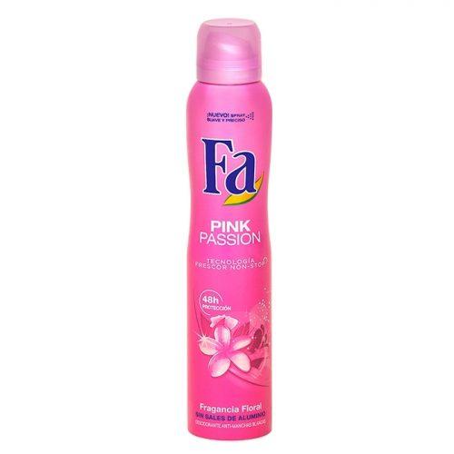 Fa Pasion Pink.Droguería online,venta de productos de limpieza de las mejores marcas.Líderes en artículos de limpieza.