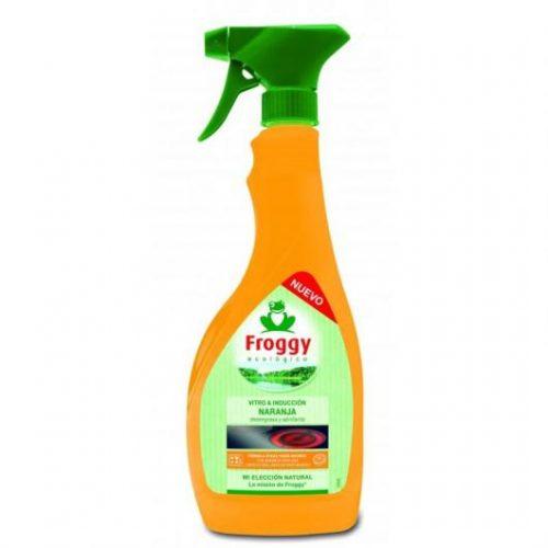 Vitrocerámica Frosch Naranja Roja.Droguería online,venta de productos de limpieza de las mejores marcas.Líderes en artículos de limpieza.