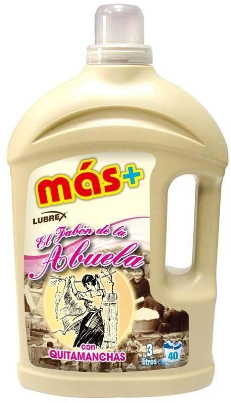 Detergente Más+ Jabón.Droguería online,venta de productos de limpieza de las mejores marcas.Líderes en artículos de limpieza.