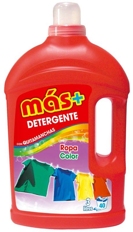 Detergente Más+ Ropa Color