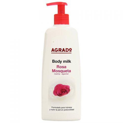 Body Milk Agrado Rosa Mosqueta.Droguería online,venta de productos de limpieza de las mejores marcas.Líderes en artículos de limpieza.