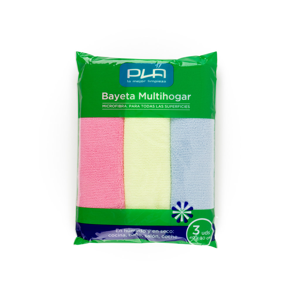 Bayetas Microfibra Pla