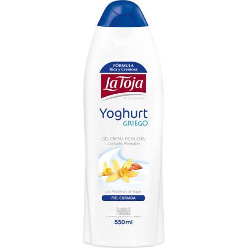 Gel La Toja Yoghurt Griego.Droguería online,venta de productos de limpieza de las mejores marcas.Líderes en artículos de limpieza.