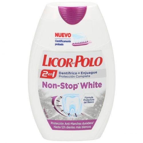 Licor Del Polo Non Stop White.Droguería online,venta de productos de limpieza de las mejores marcas.Líderes en artículos de limpieza