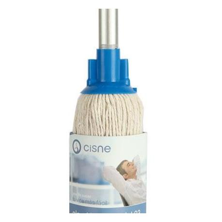 Mocho Cisne Algodon.Droguería online,venta de productos de limpieza de las mejores marcas.Líderes en artículos de limpieza.