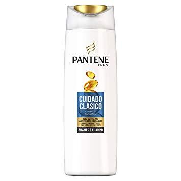 Champú Cuidado Clásico Pantene.Droguería online,venta de productos de limpieza de las mejores marcas.Líderes en artículos de limpieza.