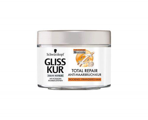 Mascarilla Gliss Total Repair.Droguería online,venta de productos de limpieza de las mejores marcas.Líderes en artículos de limpieza.