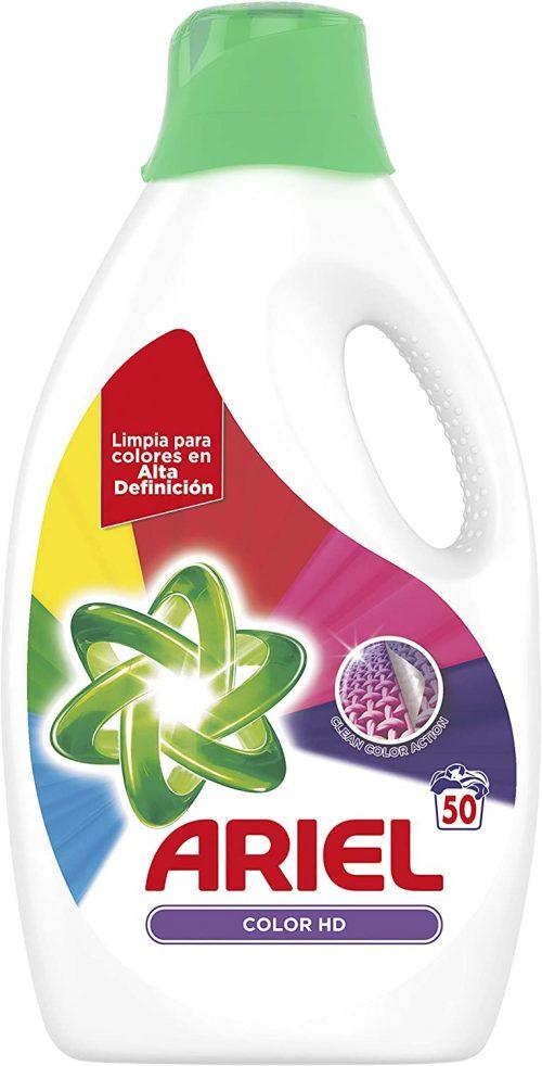 Detergente Ariel Líquido Color HD.Droguería online,venta de productos de limpieza de las mejores marcas.Líderes en artículos de limpieza.