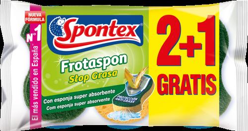 Estropajo Frotaspon Stop Grasa.Droguería online,venta de productos de limpieza de las mejores marcas.Líderes en artículos de limpieza.
