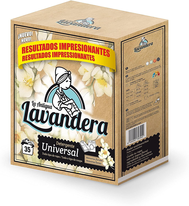 Detergente Lavandera Tambor