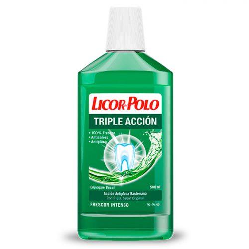 Licor Del Polo Triple Accion.Droguería online,venta de productos de limpieza de las mejores marcas.Líderes en artículos de limpieza.