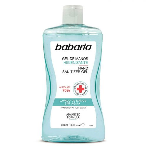 Gel Higienizante Babaria.Droguería online,venta de productos de limpieza de las mejores marcas.Líderes en artículos de limpieza.