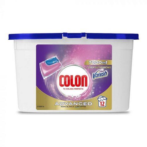 Detergente Colon Vanish 12 cap. Droguería online,venta de productos de limpieza de las mejores marcas.Líderes en artículos de limpieza.