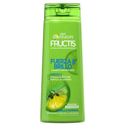 Champú Fructis Fuerza y Brillo.Droguería online,venta de productos de limpieza de las mejores marcas.Líderes en artículos de limpieza.