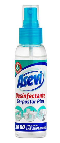 Asevi Desinfectante Tamaño Viaje.Droguería online,venta de productos de limpieza de las mejores marcas.Líderes en artículos de limpieza.