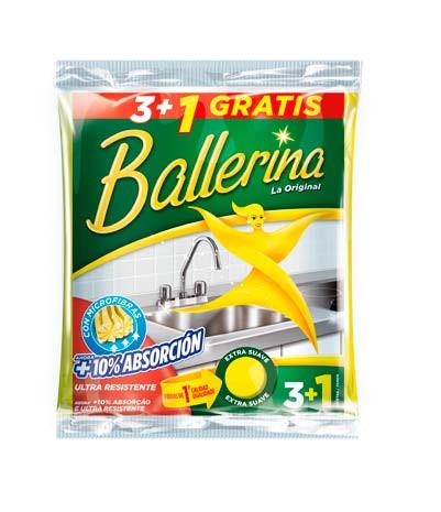 Bayetas Ballerina.Droguería online,venta de productos de limpieza de las mejores marcas.Líderes en artículos de limpieza.