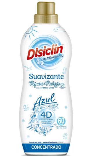 Suavizante Disiclin Azul 4D.Droguería online,venta de productos de limpieza de las mejores marcas.Líderes en artículos de limpieza.