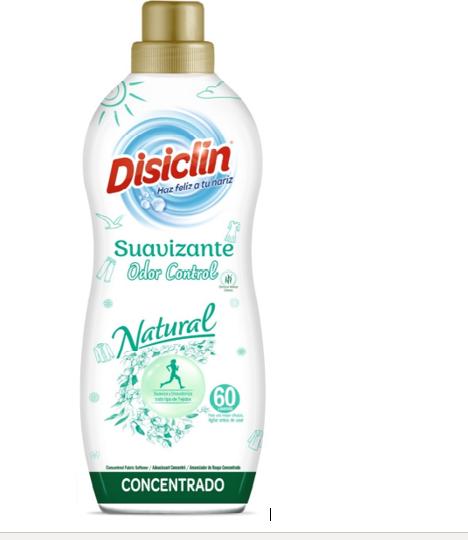 Suavizante Disiclin Natural.Droguería online,venta de productos de limpieza de las mejores marcas.Líderes en artículos de limpieza.