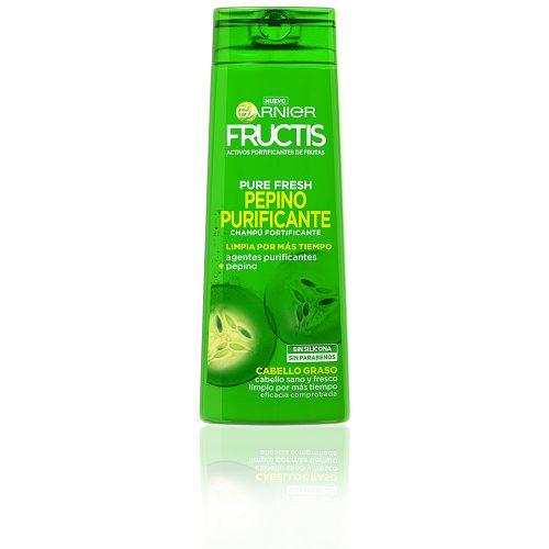 Champú Fructis Purificante Pepino.Droguería online,venta de productos de limpieza de las mejores marcas.Líderes en artículos de limpieza.