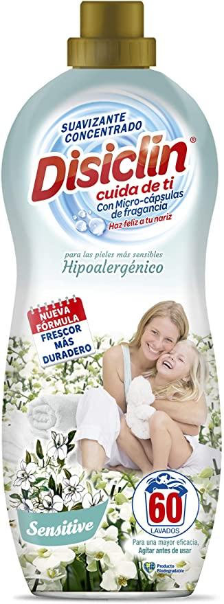 Suavizante Disiclin Hipoalergenico.Droguería online,venta de productos de limpieza de las mejores marcas.Líderes en artículos de limpieza.